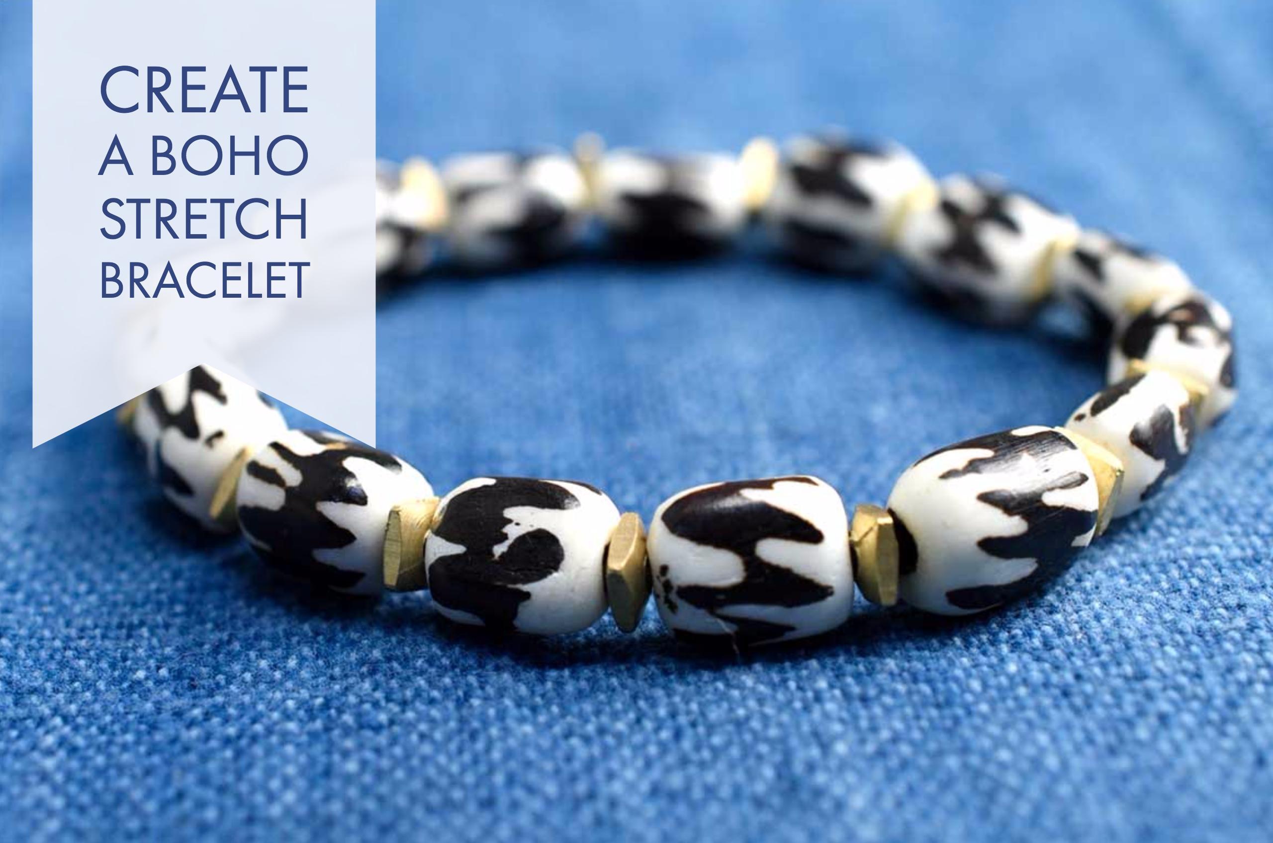 Create a Boho Bone Bracelet