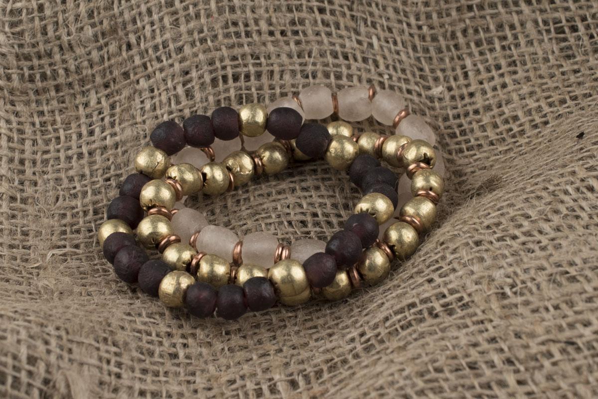 Make an Easy to Make Elastic Bangle Bracelet Sets