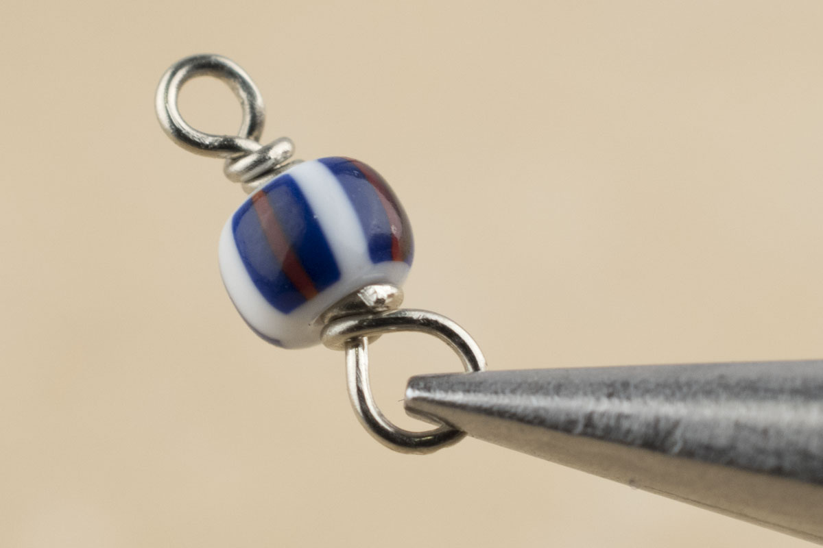 Wire Wrapping Small Glass Seed Beads